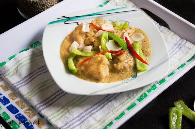 white chicken recipe with step by step pictures