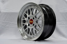 BBS LM2 HYPER BLACK  Replica