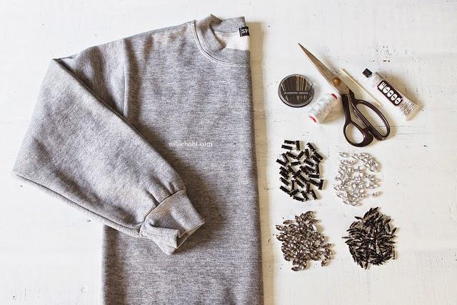 Sweatshirtten Trend Mont Yapımı