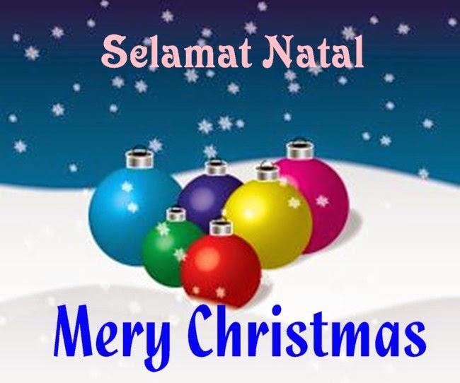 Kata Ucapan Selamat Natal Terbaru Bahasa Inggris 2014