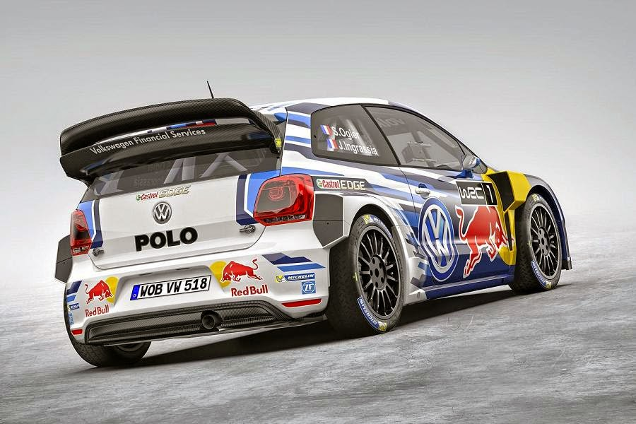 Volkswagen Polo R WRC 2015 Rear Side