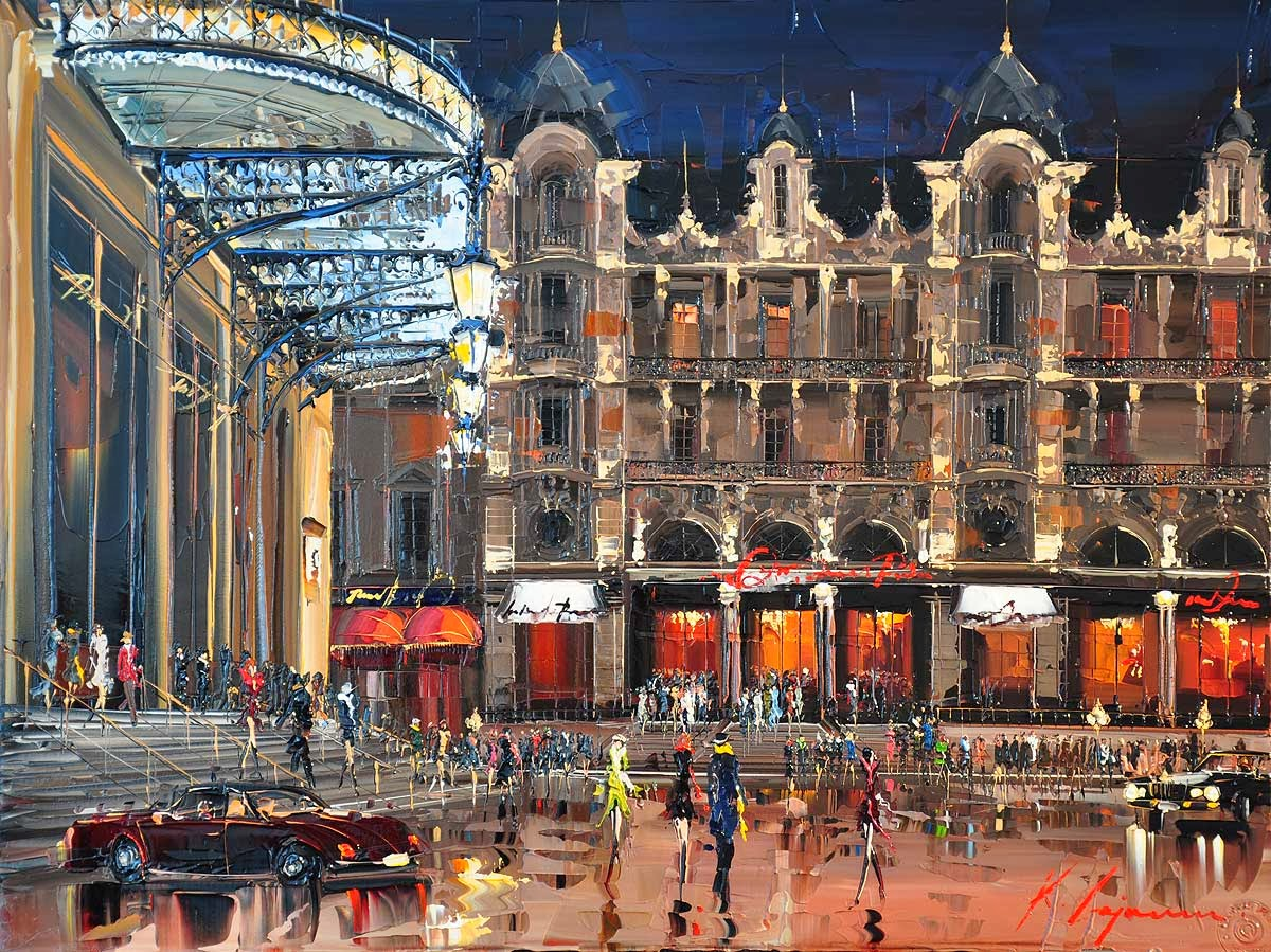 ©Kal Gajoum - City Scapes . Pintura | Paintings