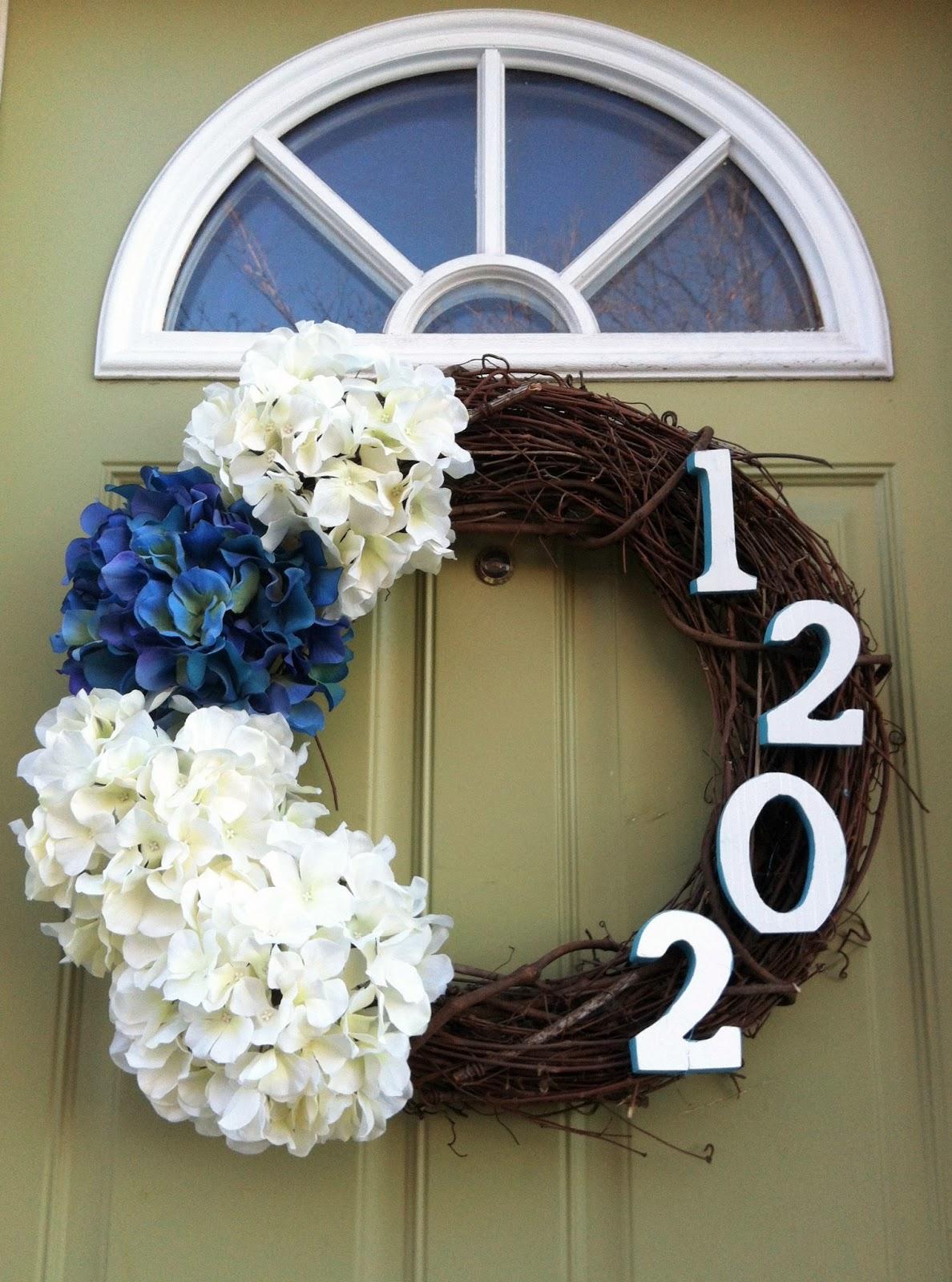 taylor made diy spring wreath