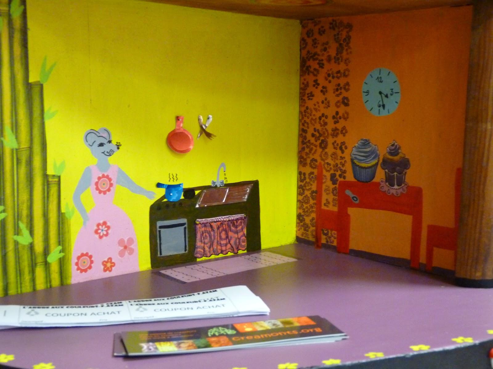 peintures et chambre d 39 enfants l 39 arbre aux couleurs l 39 appartement des souris ma derni re cr ation. Black Bedroom Furniture Sets. Home Design Ideas