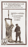 Beef On The Farm: Slaughtering, Cutting, Curing (1924)