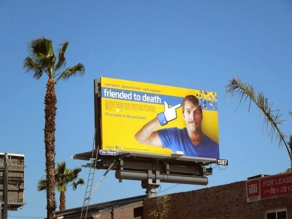 Friended to Death movie billboard