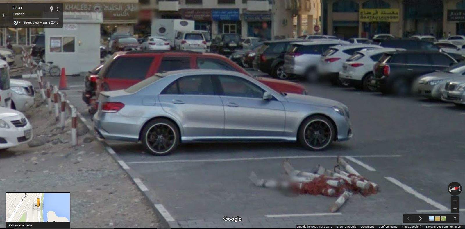 Street View Supercars Mercedes Benz E Amg S In Sharjah