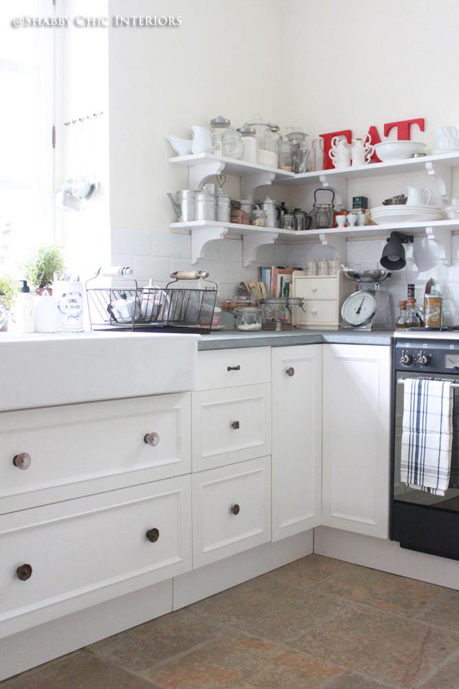 trova le differenze in cucina - shabby chic interiors - Pitturare Cucina