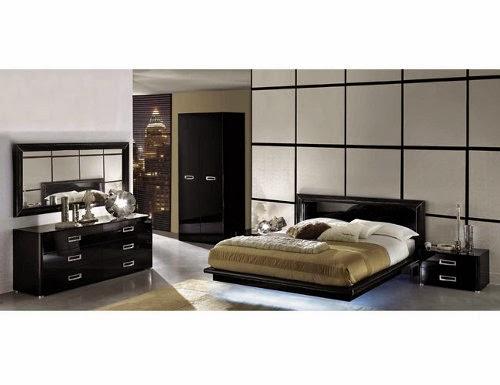 modern bedroom set metropolitan european style layout