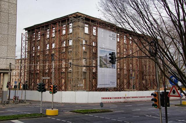 Baustelle Köln, Neue Direktion Köln, Konrad-Adenauer-Ufer 5, 50668 Köln, 27.01.2014