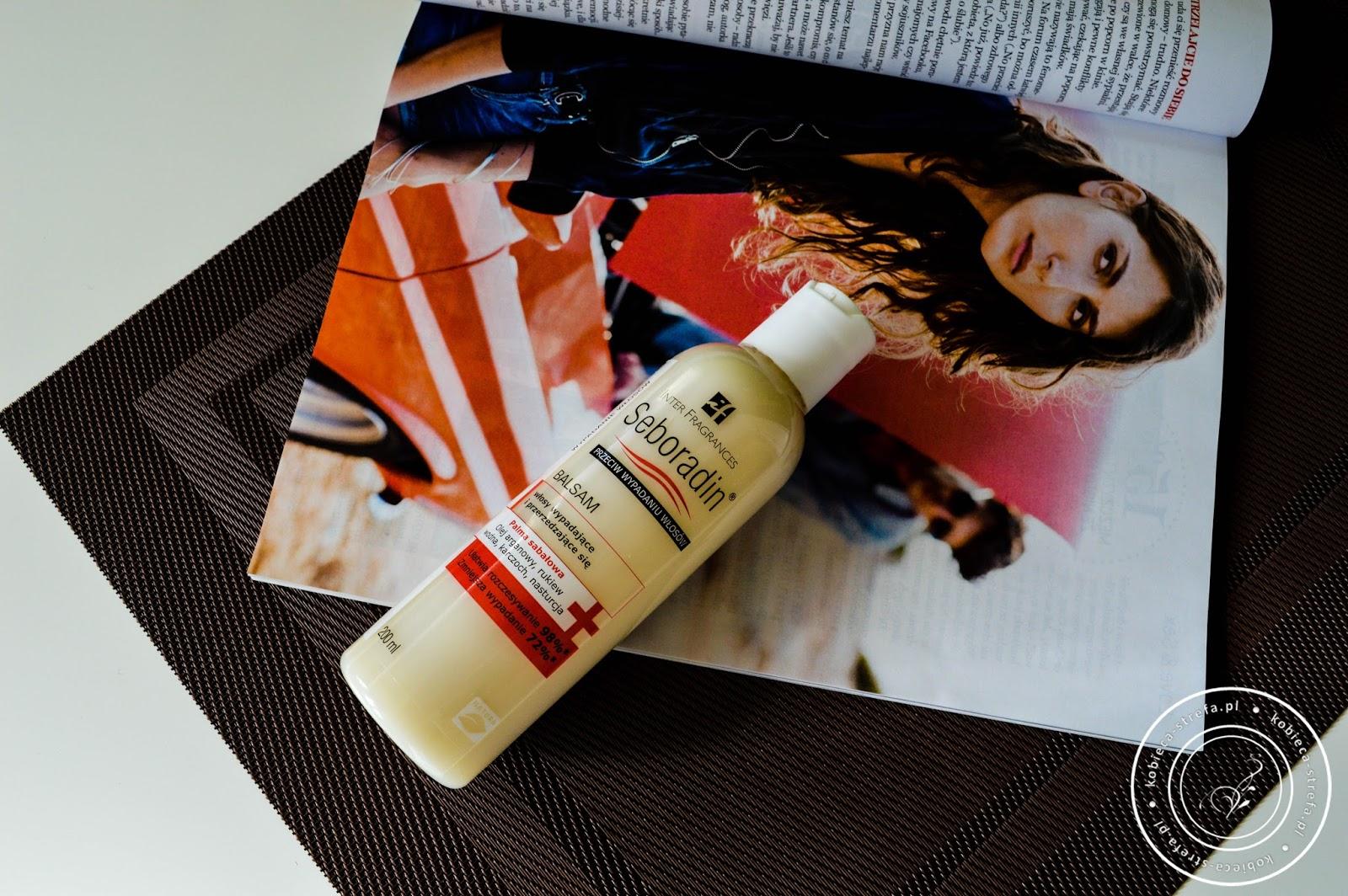 Seboradin balsam przeciw wypadaniu włosów