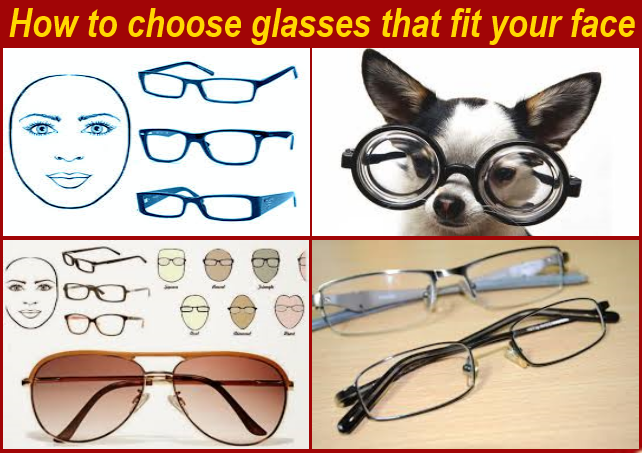 1 of th Best of: How to choose glasses that fit your face