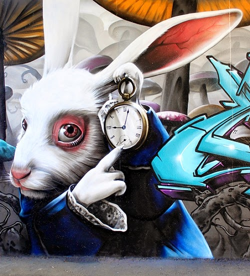 06-Alice-in-Wonderland-the-Rabbit-SmugOne-Graffiti-Artist-3D-www-designstack-co
