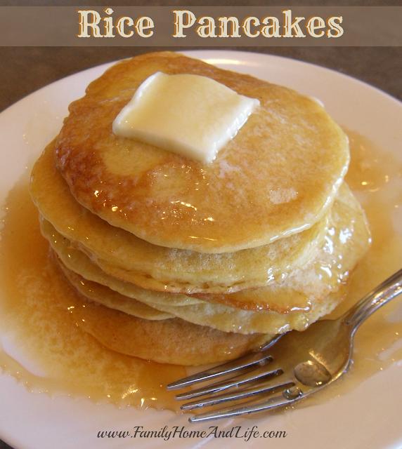 rice pancakes   Family Home & Life