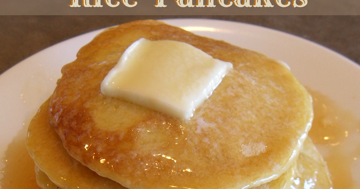 Hill House Homestead: Rice Pancakes