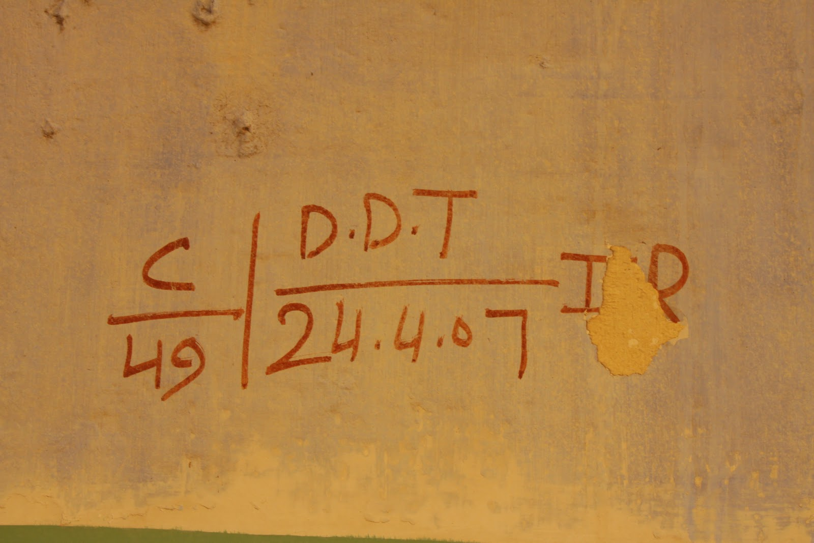 DDT-Sprayed-India-Hospitals