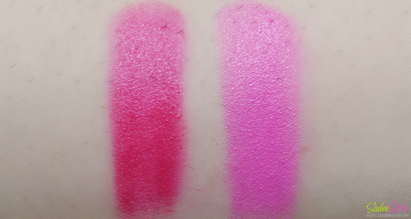 Illamasqua Lipsticks Glissade and Luster by Glamour Collection