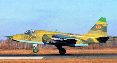 Су 25 ВВС Казахстана.