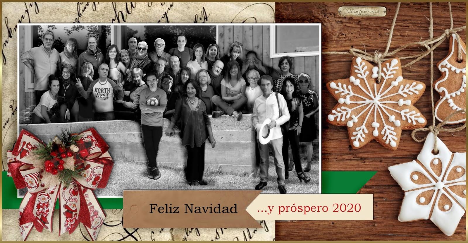 Navidad 2019. Año nuevo 2020