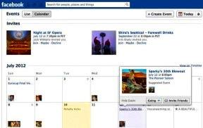 Resideño de la sección de eventos en Facebook