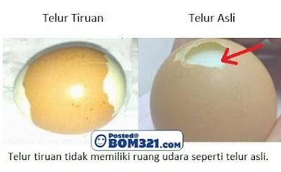 Cara Mengenal Pasti  Telur Ayam Tiruan / Perbezaan Telur Tiruan Dan Telur  Asli