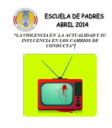 """Iº ESCUELA DE PADRES DE LA IE FAP """"RENÁN ELÍAS OLIVERA"""" 2014  DÍA: 15 DE ABRIL HORA 5:00 PM"""