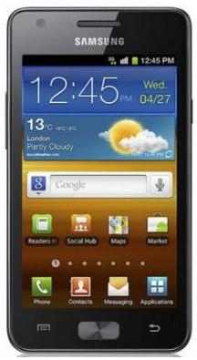 Samsung Galaxy R Review , Features and Specifications