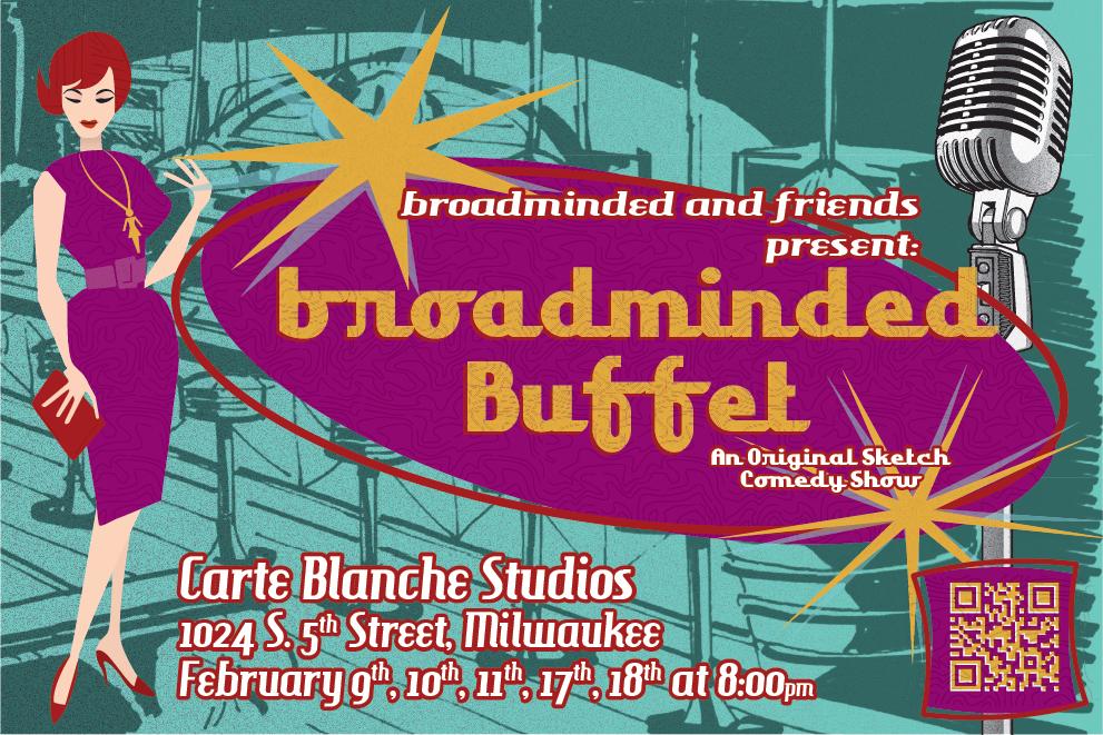 ... an original show by Milwaukee's all-female sketch comedy quartet.