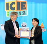 NISMED staff receive awards at ICIE 2012