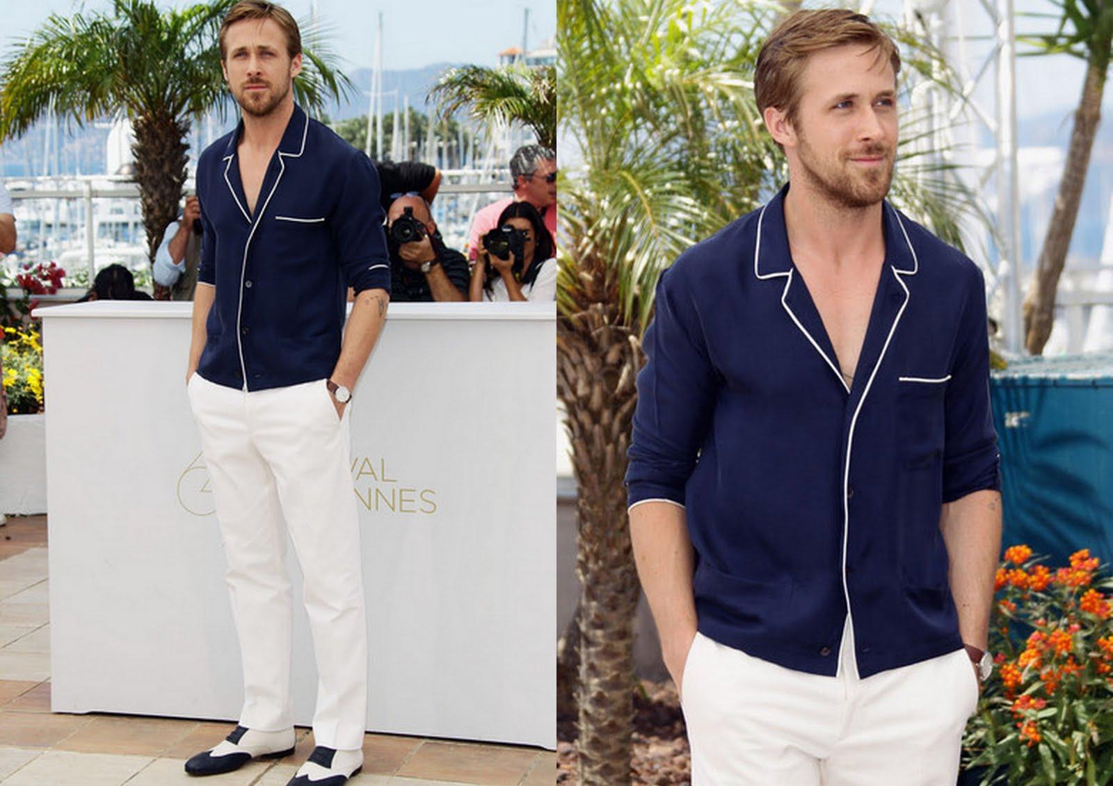¿Como debe vestir (un hombre) el pantalón blanco?