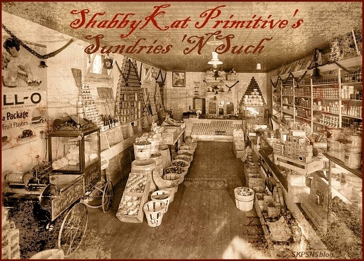 ShabbyKat Primitive&#39;s Sundries &#39;n Such