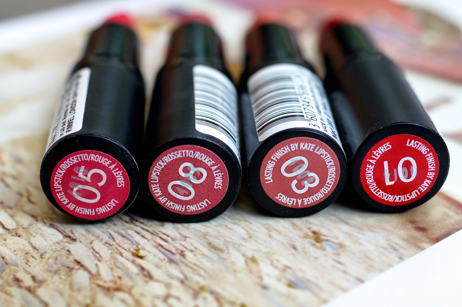 Emtalks: Kate Moss Rimmel Lipstick Collection Review: New Favourites