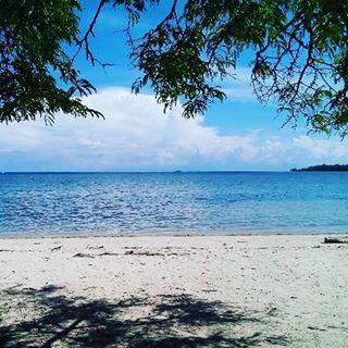 foto keindahan pantai bama di TN. baluran