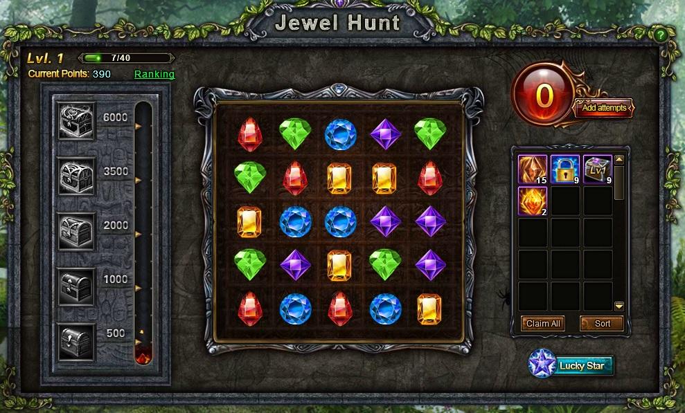 Wartune Jewel Hunt