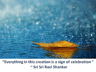 Quotes on Celebration by Sri Sri Ravi Shankar