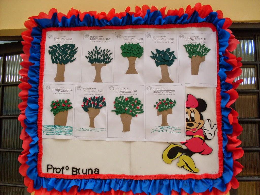 Espa o educar dia da rvore atividades de reciclagem for Bordas para mural