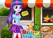 MLPEG Twilight Sparkle Christmas Shopping juego