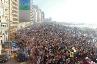 Aksi damai anti-kudeta di Iskandariyah 23 Agustus 2013