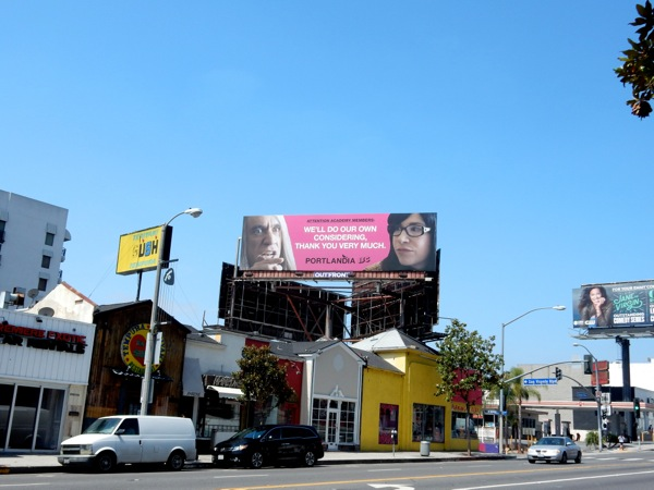 Portlandia 2015 Emmy billboard