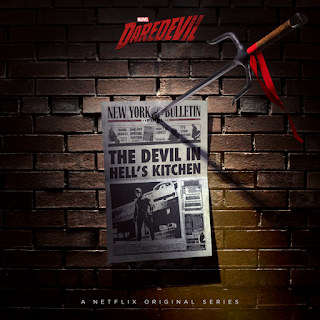 The Devil in Hell's Kitchen season 2 Daredevil poster Elektra