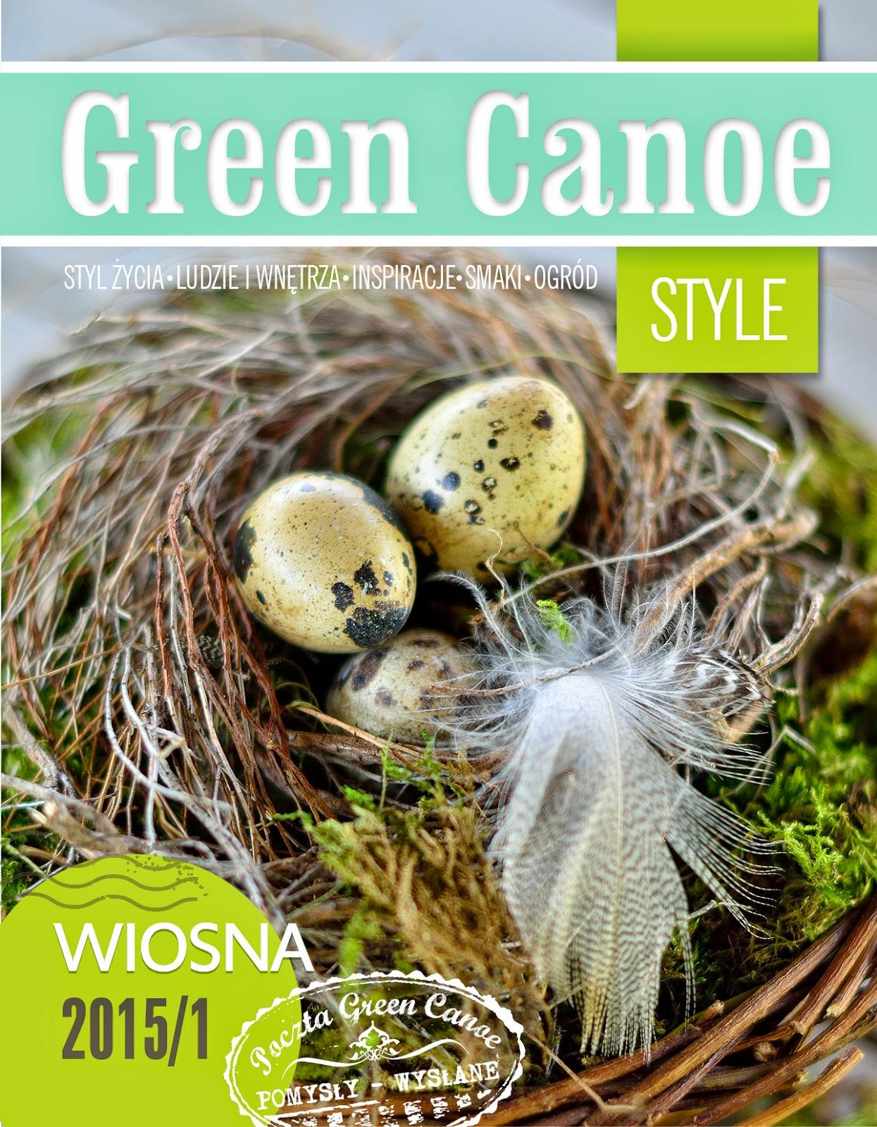 Niczego Sobie w Green Canoe Style - wiosna 2015