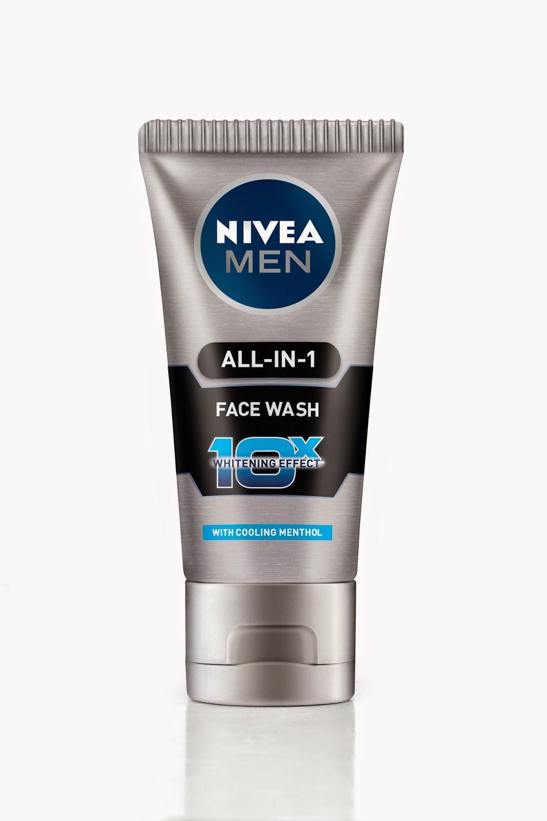 PR:New Nivea Men All-in-1 Face wash
