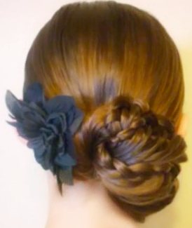 Prom Hairstyles: Triple Lace Braid Hairstyle Tutorial