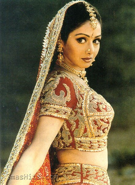 Sridevi - (2) -  NDTV Most popular Actresses of all time RESULTS