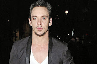 Jonathan Rhys Meyers leaving a nightclub in London last week.