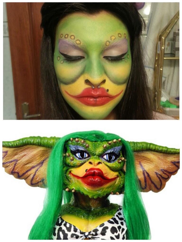 garota maquiagem makeup menina nerd geek cinefola terror lol