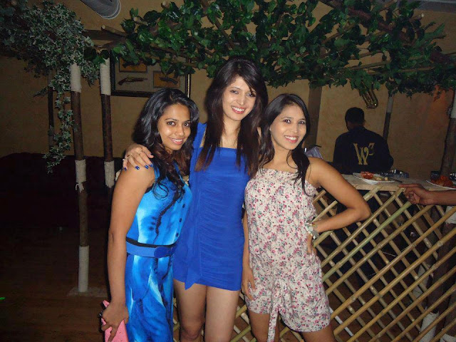 Charlie Chauhan in Kunwar Amarjeet's Birthday Party