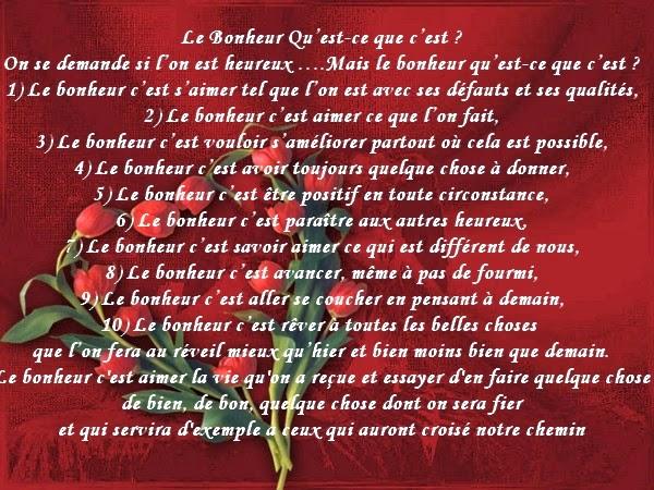 Texte Sur le Bonheur Beau Poème Sur le Bonheur
