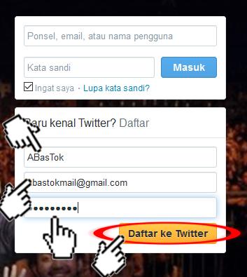 cara membuat akun twitter, tutorial cara membuat twitter dengan mudah, tips membuat akun twitter