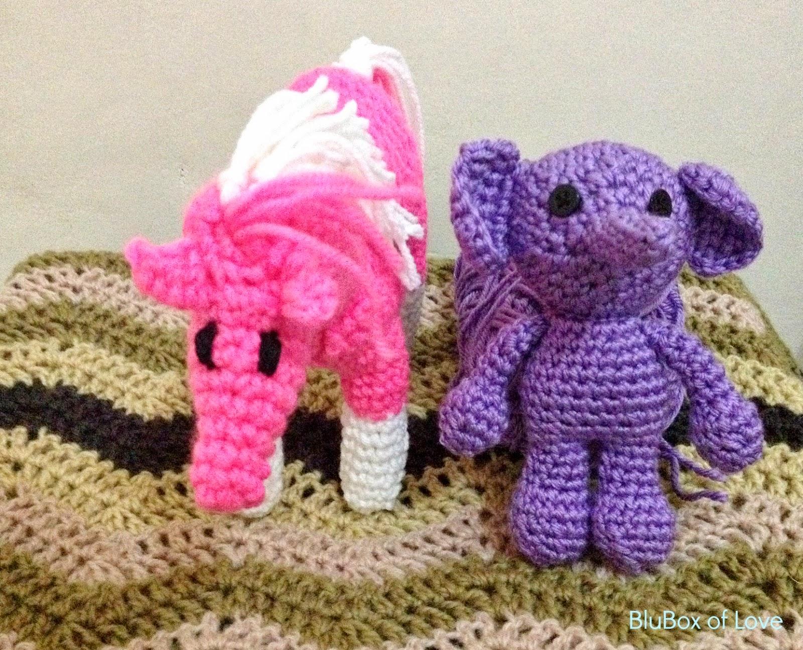 Pink Pony & Baby Elle